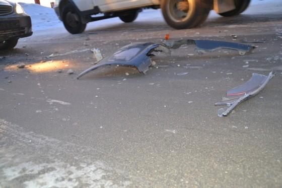 В Смоленске на Витебском шоссе произошла массовая авария
