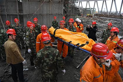 В Китае задержали девять подозреваемых по делу об обрушении электростанции