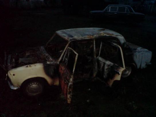 В Смоленской области пострадал водитель загоревшейся «копейки»