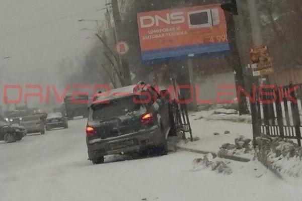 День жестянщика в Смоленске: очевидцы сообщают о множестве ДТП