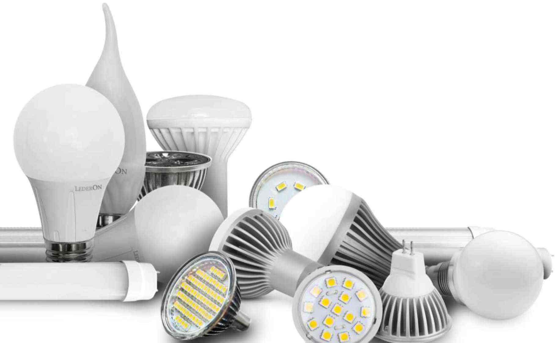Светодиод. Затраты электроэнергии. Яркость ламп. Превосходство светодиода над энергосберегающей лампой и лампой накаливания