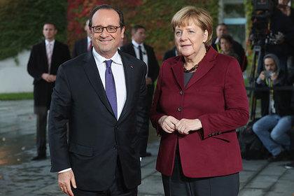 Олланд и Меркель призвали к продлению антироссийских санкций