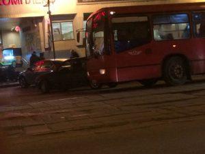 В Смоленске автобус попал в ДТП