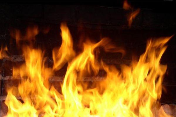 В Смоленске в частном подворье горела баня