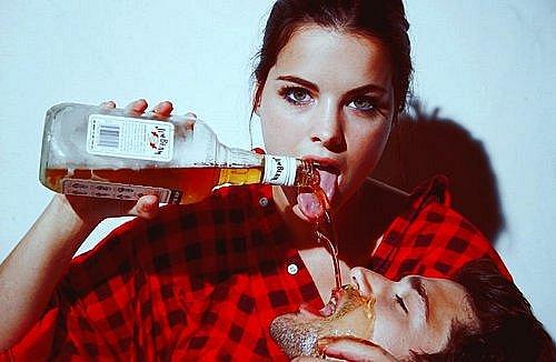 Алкоголь и любовь