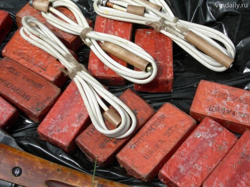 Смоляне добровольно сдали больше 100 килограммов взрывчатки