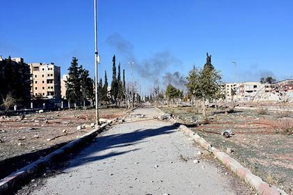 Ребенок-смертник устроил взрыв в полицейском участке Дамаска