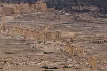 Сирийские власти признали утрату контроля над Пальмирой