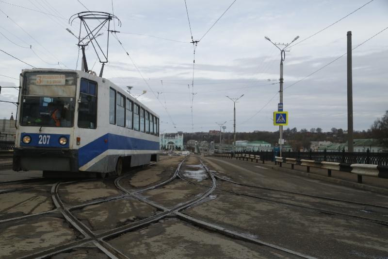 Во вторник в Смоленске трамваи пойдут в Заднепровье