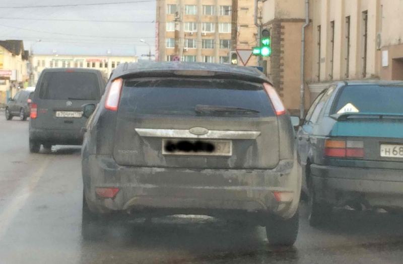 В Смоленске из-за аварии образовалась пробка в районе улицы Кашена