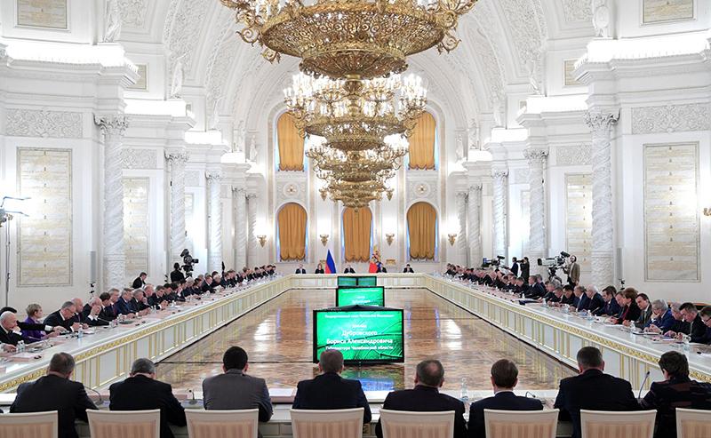 Алексей Островский принял участие в заседании Госсовета по экологии