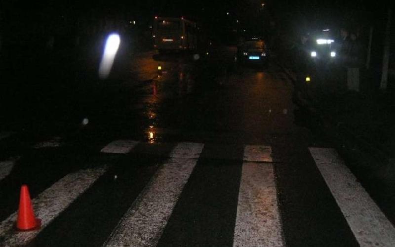В Смоленской области водитель иномарки сбил пешехода