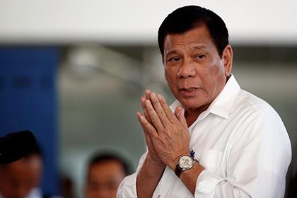 Власти Филиппин рассказали о скором визите Дутерте в Москву
