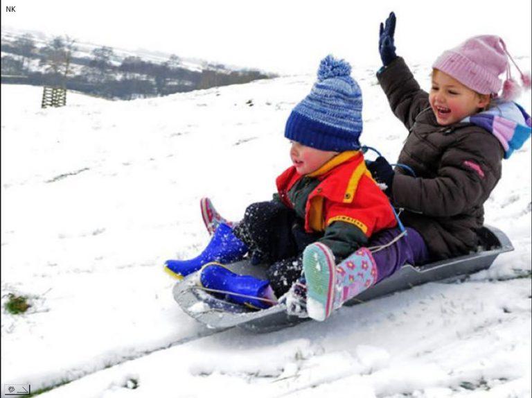В Смоленске обезопасят детские снежные горки