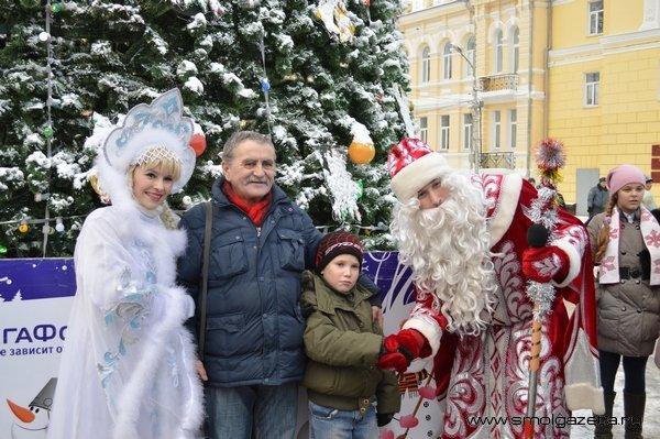 Как Смоленск отметит Новый Год