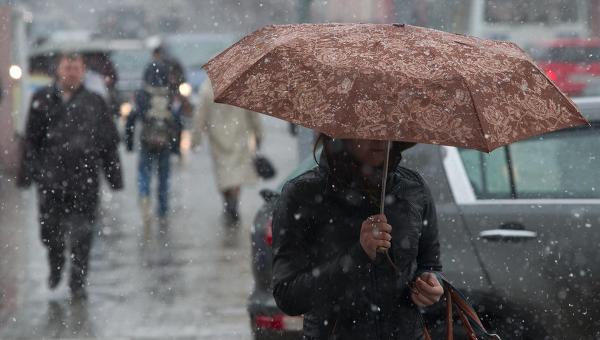 Во вторник в Смоленской области ожидается мокрый снег