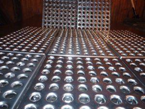 Применение металлической плитки