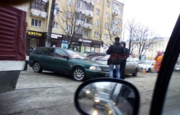 В Смоленске из-за ДТП встали трамваи