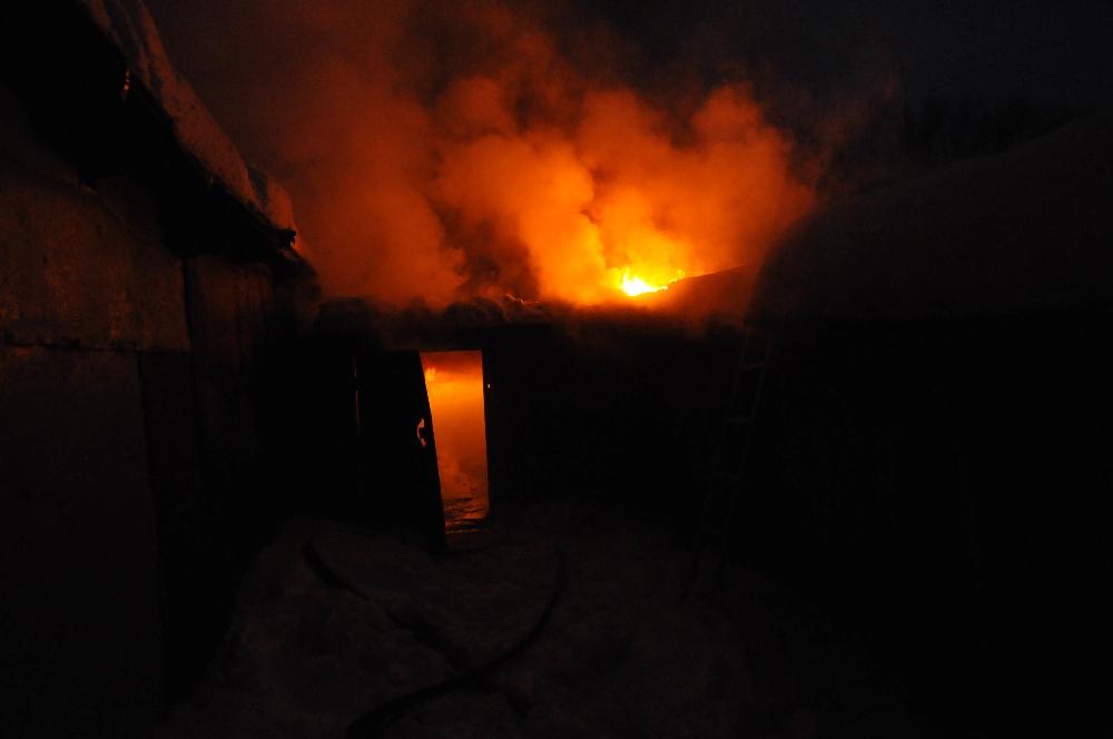 Под Смоленском из-за неисправной печи сгорела баня