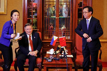 Китай и Филиппины договорились о 30 совместных проектах