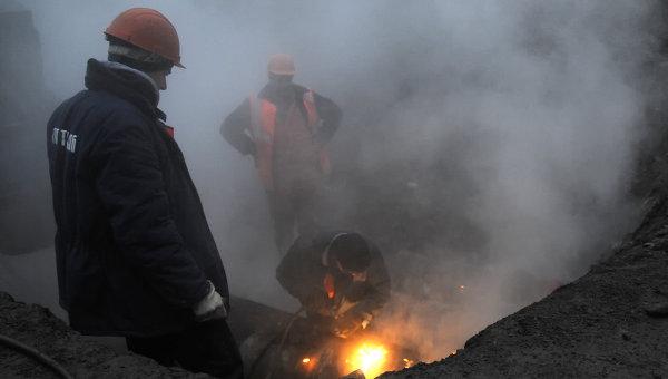 В Смоленске из-за аварии жители нескольких домов остались без отопления