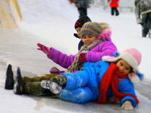 Горки в центре Смоленска небезопасны для детей