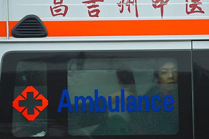 В жилом комплексе на северо-востоке Китая произошел взрыв