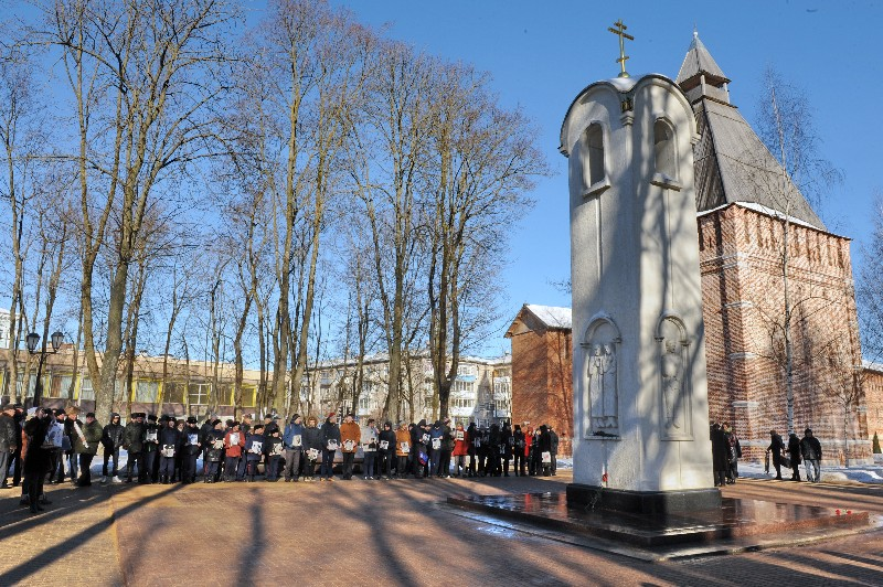 В Смоленске почтили память воинов-интернационалистов
