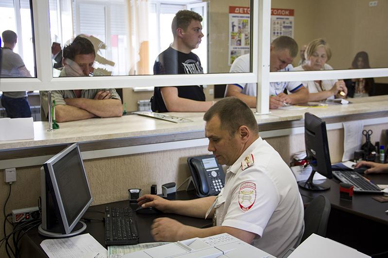 С марта в Смоленске изменится график работы МОРЭР ГИБДД