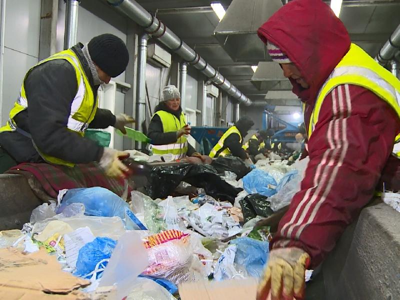 В Смоленской области заработал мусоросортировочный завод