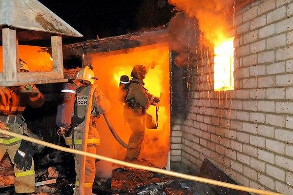 В Смоленской области за сутки два пожара унесли жизни трех человек