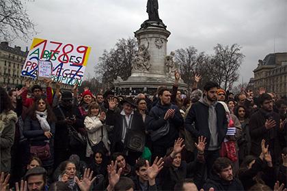 Во Франции прошли многочисленные протесты против коррупции