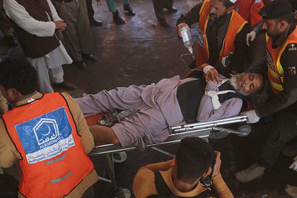 Жертвами теракта в Пакистане стали пять человек