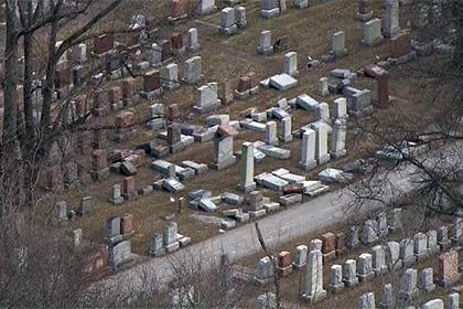 В Миссури разгромили еврейское кладбище