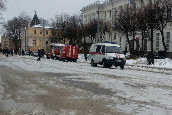 В Смоленске с главпочтамта эвакуировали людей