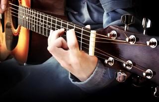 Занятия гитарой для начинающих в студии МузШок