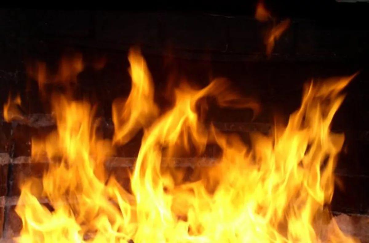 В Смоленской области горела ферма