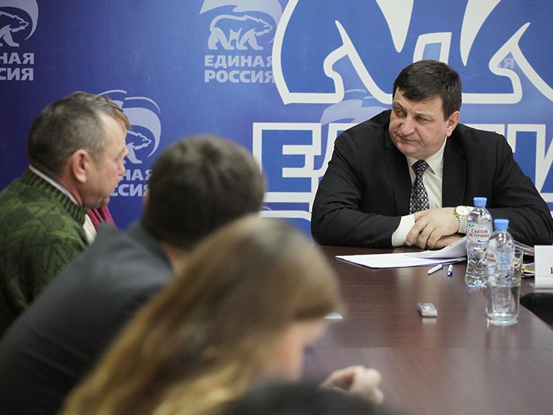 Игорь Ляхов провел прием граждан