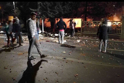 Взрыв произошел в пригороде Парижа