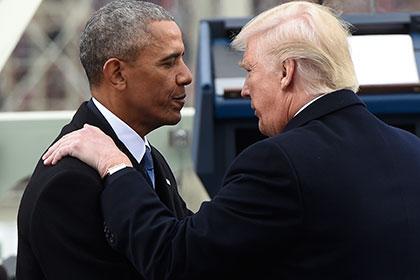 Трамп рассказал о взаимных симпатиях с Обамой