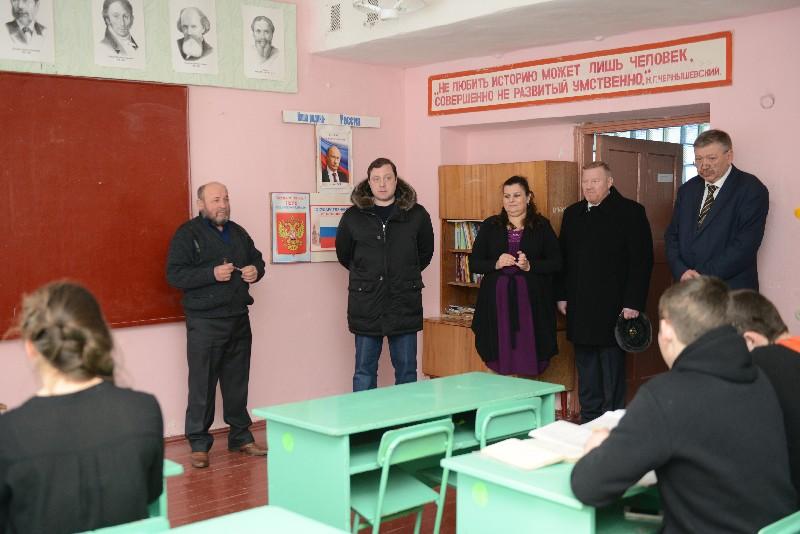 Губернатор совершил рабочую поездку в Шумячский район