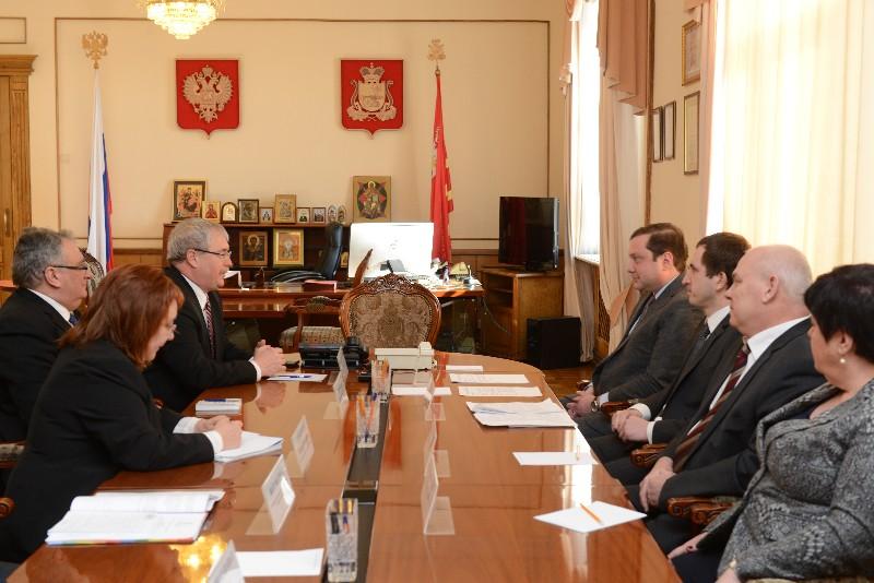 Губернатор Смоленской области провел рабочую встречу с министром сельского хозяйства Венгрии