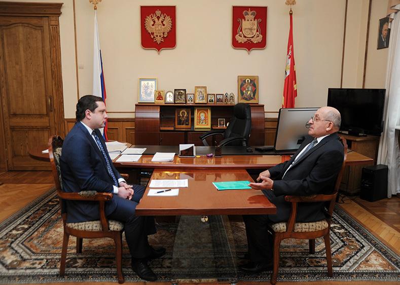 Уполномоченный по правам человека в Смоленской области представил губернатору отчет о работе в 2016 году