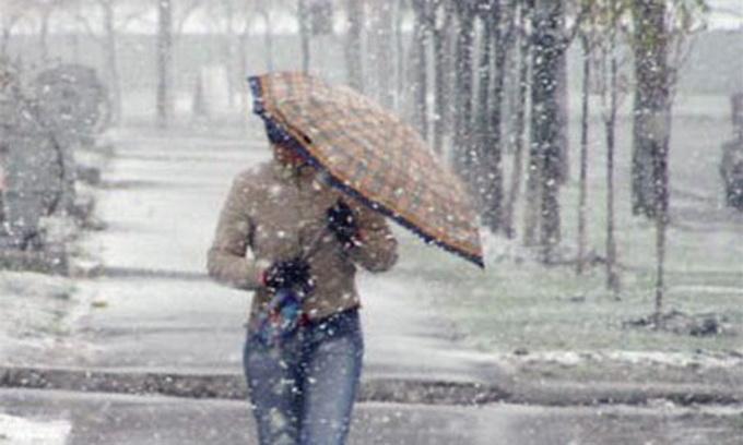 В пятницу в Смоленской области ожидаются дожди с мокрым снегом