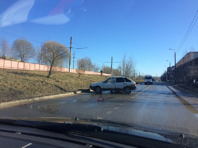 В Смоленске столкнулись два «ВАЗа»