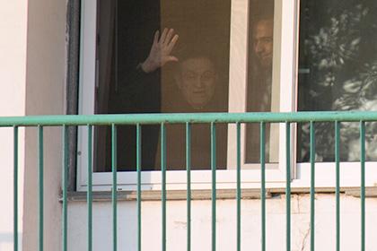 Бывший президент Египта Мубарак вышел из тюрьмы