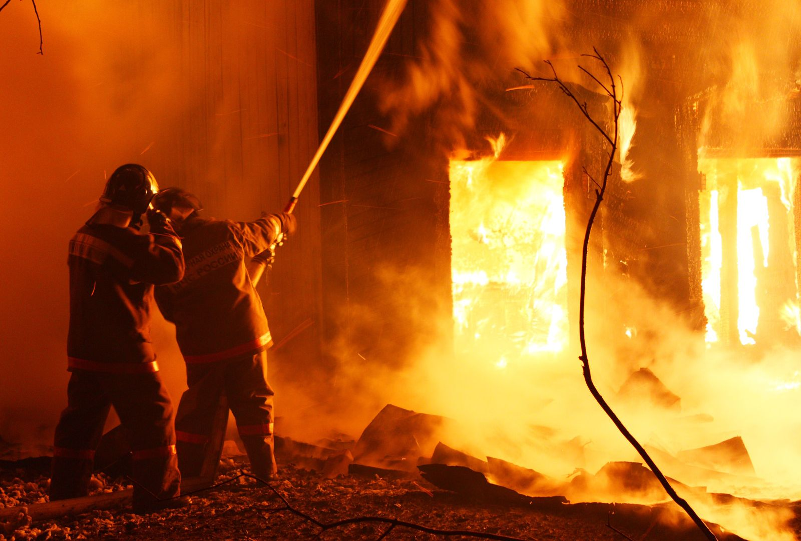 В Архиповке Смоленского района загорелся жилой дом