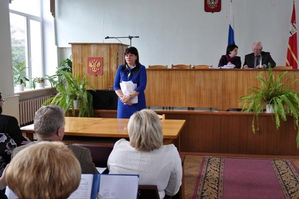 Главой Вяземского района Смоленской области стала Инна Демидова