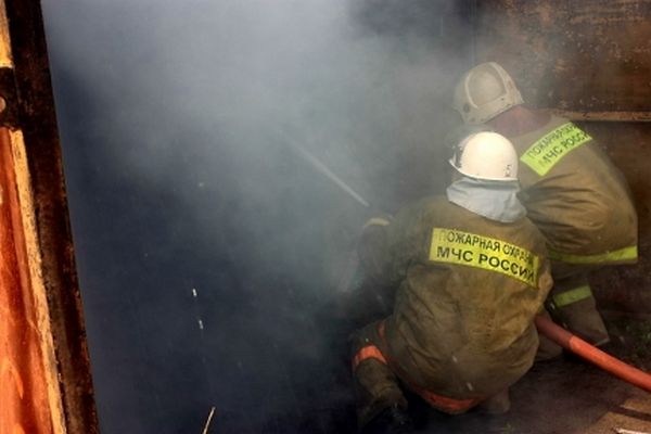 Под Смоленском на кухне загорелся водонагревательный котел