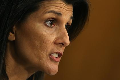 Постпред США в ООН пообещала поддерживать Израиль